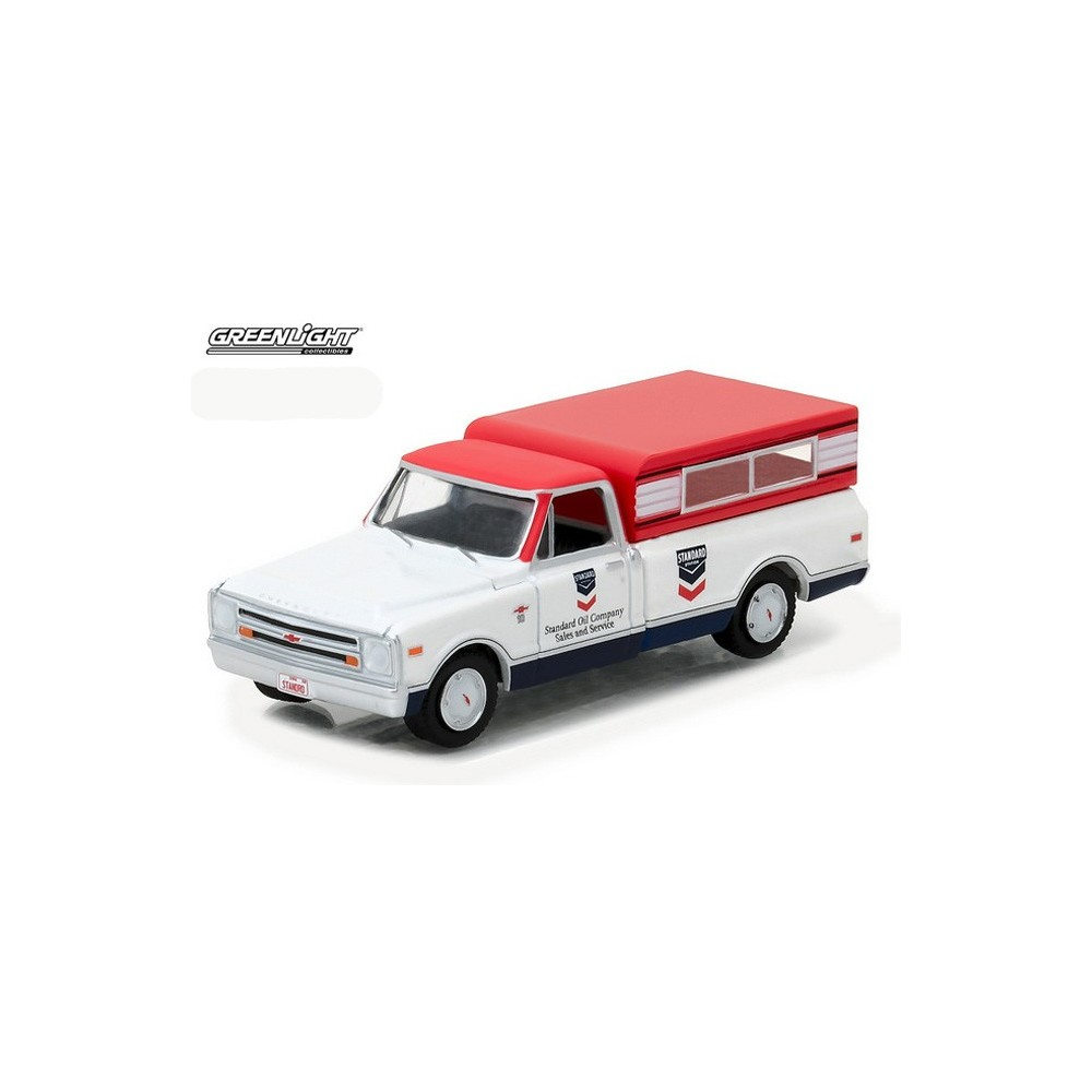 Greenlight Running On Empty Series 1 1968 Chevy C 10 Standard Truck Pickup For Sale