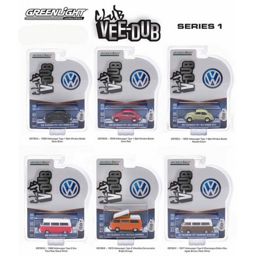 Club Vee-Dub Series 1 - SET