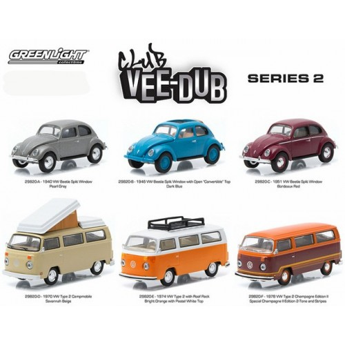 Club Vee-Dub Series 2 - SET