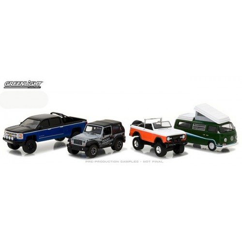 Greenlight Multi Car Diorama - Rocky Mountain Trail Climbers