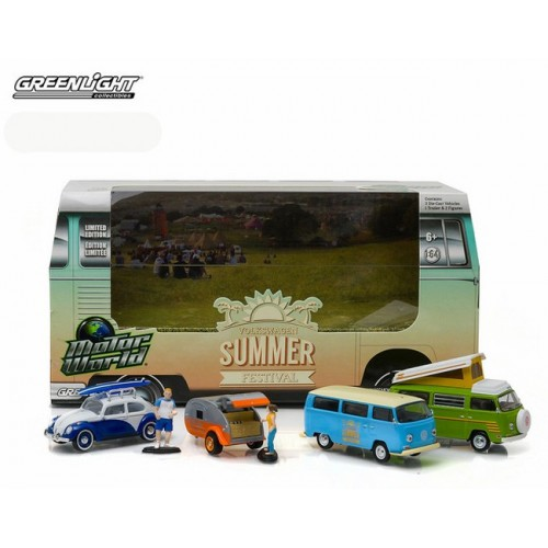 Greenlight Multi Car Diorama - Volkswagen Summer Festival