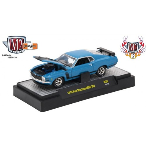 Detroit Muscle Release 38 - 1970 Ford Mustang BOSS 302