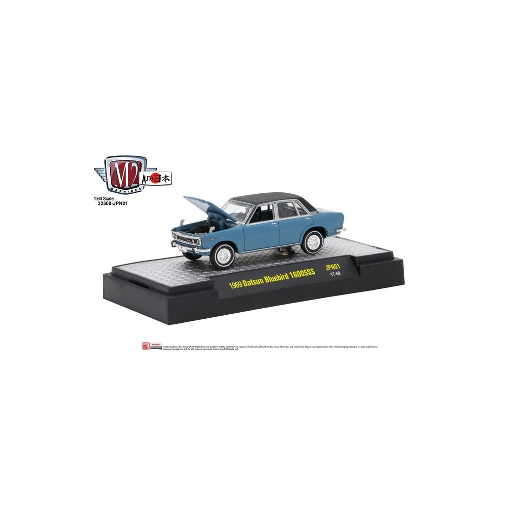 Auto-Japan Release 1 - 1969 Datsun Bluebird