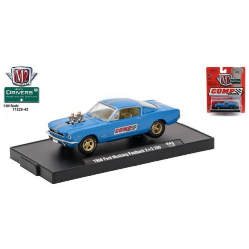 Drivers Release 43 - 1966 Ford Mustang Fastback 2+2