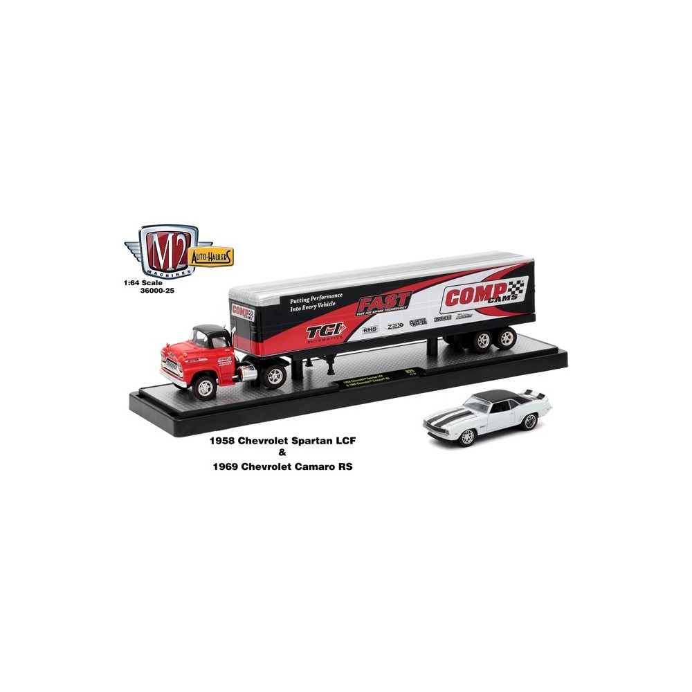 Auto-Haulers Release 25 - 1958 Chevy Spartan LCF and Dry Van Trailer