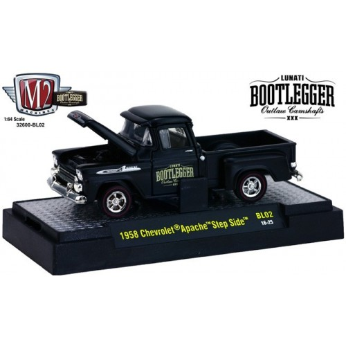 Bootlegger Release 2 - 1958 Chevy Apache Step Side Truck
