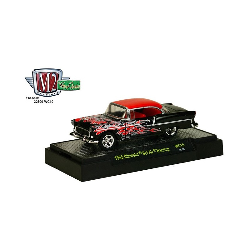 M2 Machines Wild Cards Release 10 - 1955 Chevy Bel Air Hardtop