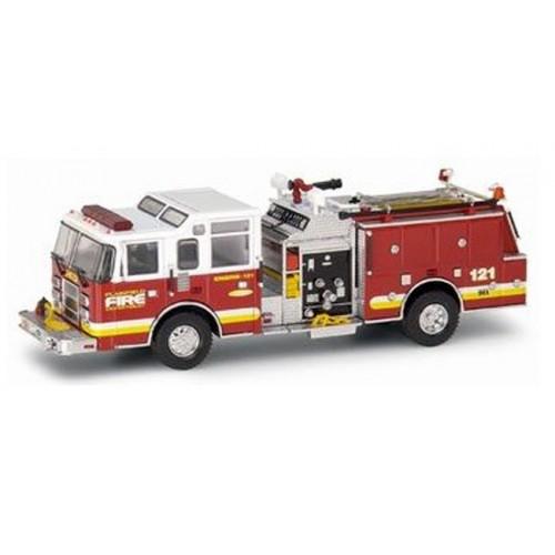 Pierce Dash Top Mount Pumper - Plainfield Fire Department