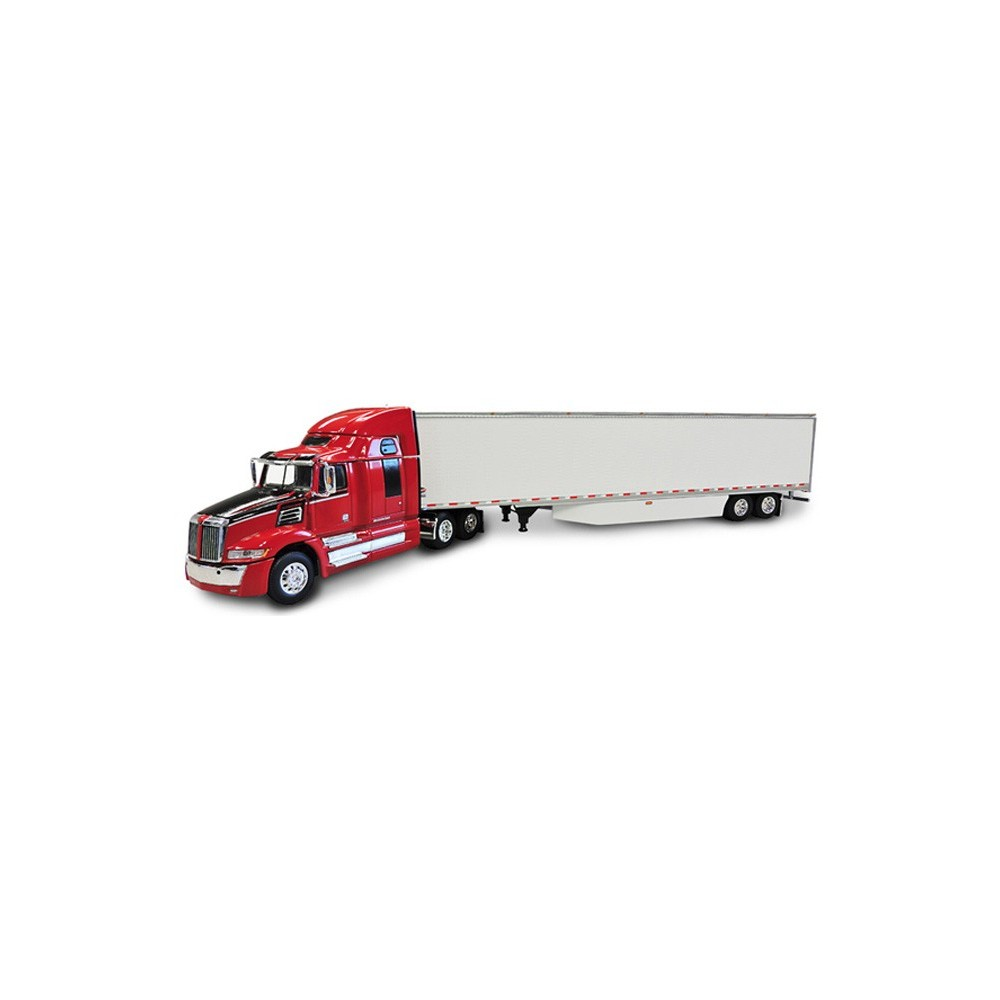 DCP Western Star 5700 XE with Dry Van Skirted Trailer