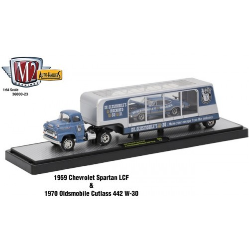 Auto-Haulers Release 24 - 1959 Chevy LCF and 1970 Oldsmobile Cutlass 442
