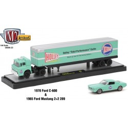 Auto-Haulers Release 23 - 1970 Ford C-600 and 1965 Ford Mustang 2+2