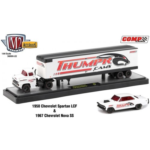 Auto-Haulers Release 22 - 1958 Chevy Spartan LCF and 1967 Chevy Nova