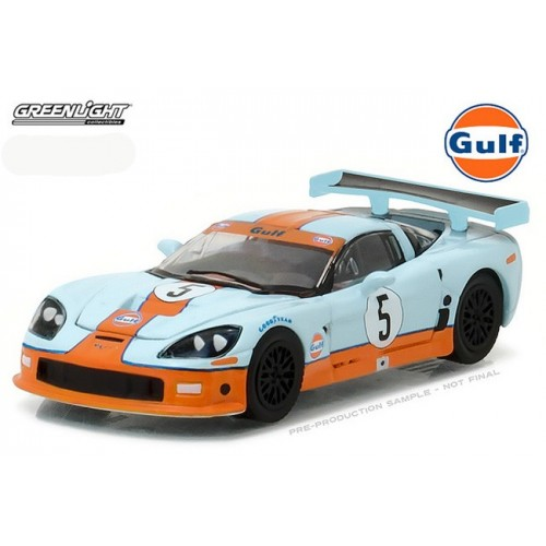 Hobby Exclusive - 2009 Chevrolet Corvette C6R Gulf Oil