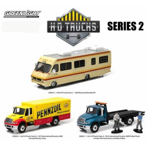 HD Trucks Series 2 - SET