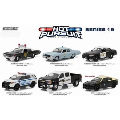 Hot Pursuit Series 19 - SET