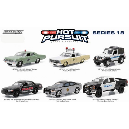 Hot Pursuit Series 18 - SET