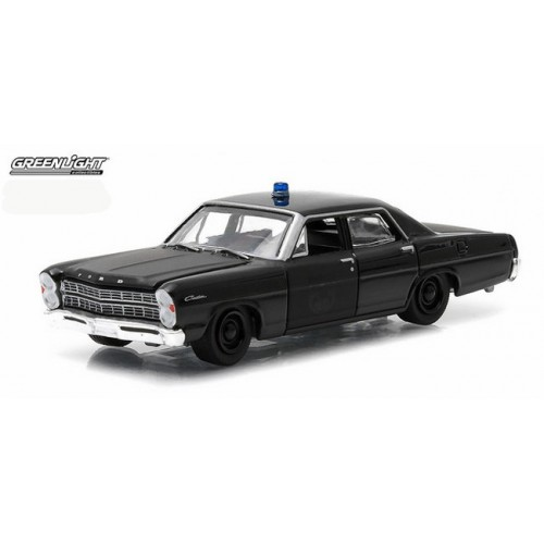 Black Bandit Series 12 - 1967 Ford Custom Police Car