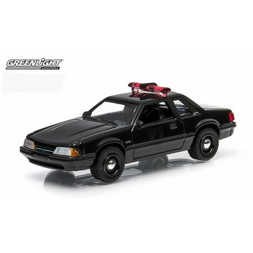 Black Bandit Series 11 - 1987 Ford Mustang Police Car