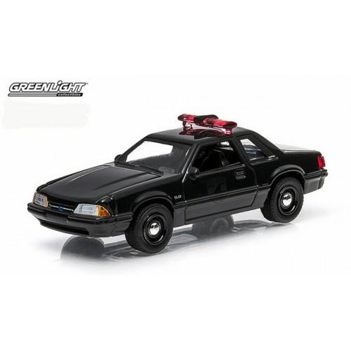 Black Bandit Series 11 - 1987 Ford Mustang Police Car