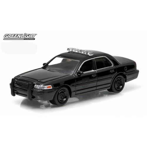 Black Bandit Series 11 - Ford Crown Victoria Police Car