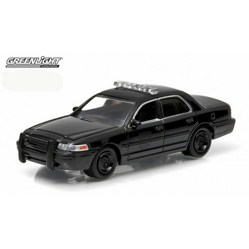 Black Bandit Series 11 - Ford Crown Victoria Police Car