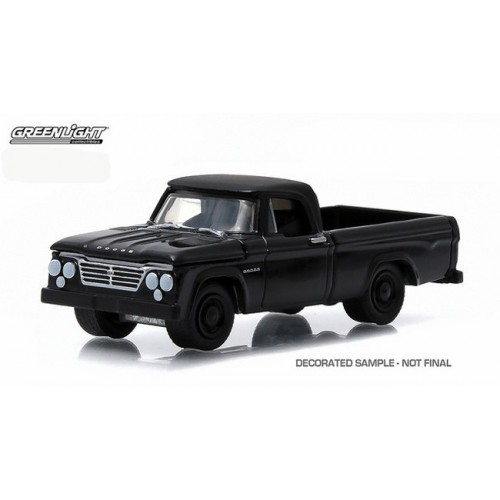 Black Bandit Series 13 - 1963 Dodge D-100