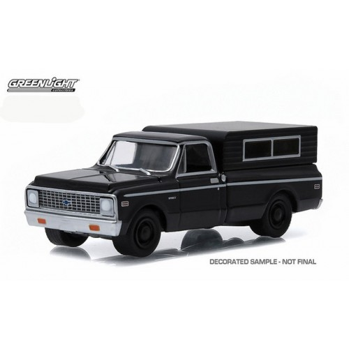 Black Bandit Series 13 - 1972 Chevrolet C-10 Truck with Camper Shell
