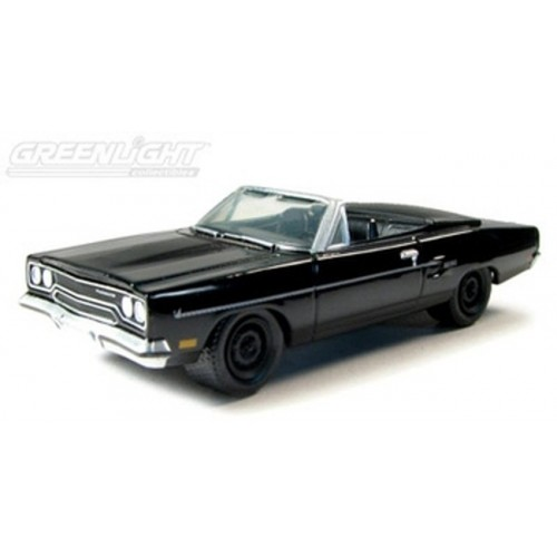 Black Bandit Series 4 - 1970 Plymouth Road Runner Convertible