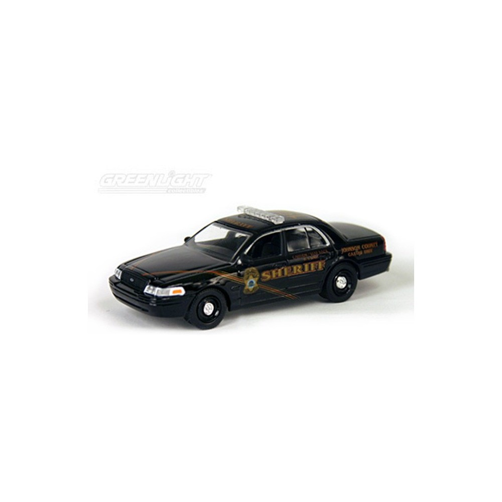 Hot Pursuit Troy's Toys Exclusive - 2008 Ford Crown Victoria Johnson County 198