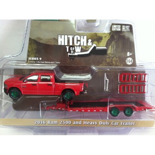 Hitch and Tow Series 9 - 2016 RAM and Heavy Duty Car Trailer Green Machine