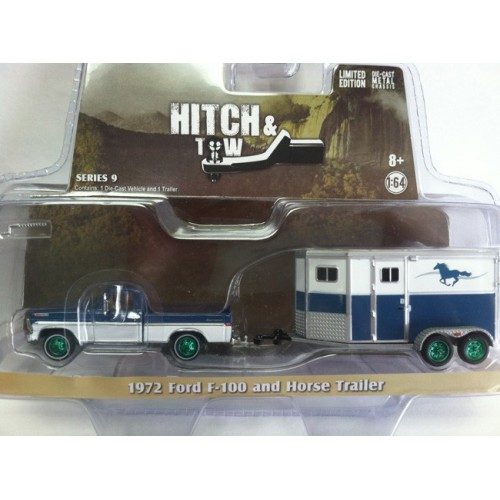 Hitch and Tow Series 9 - 1972 Ford F-100 and Horse Trailer Green Machine Version