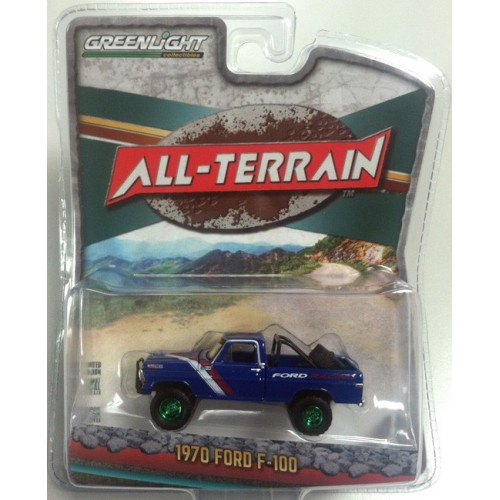 All-Terrain Series 5 - 1970 Ford F-100 Pickup Green Machine Version