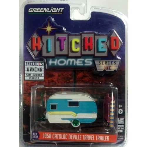 Hitched Homes Series 1 - 1958 Catolac Deville Travel Trailer Green Machine Version