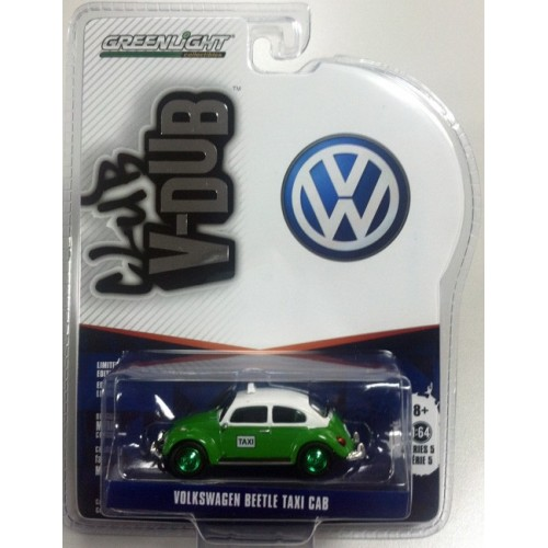 Club Vee-Dub Series 5 - Volkswagen Beetle Taxi Cab Green Machine Version