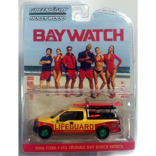 Hollywood Series 16 - 2016 Ford F-150 Emerald Bay Beach Patrol Green Machine Version