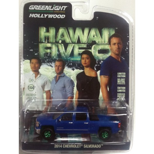 Hollywood Series 16 - 2014 Chevrolet Silverado Green Machine Version