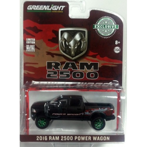 Hobby Exclusive - 2016 RAM 2500 Power Wagon Green Machine Version