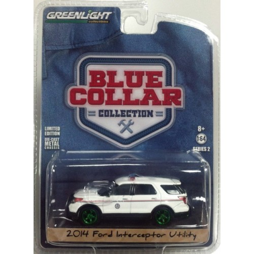 Blue Collar Series 2 - 2014 Ford Interceptor Utility  Green Machine Version