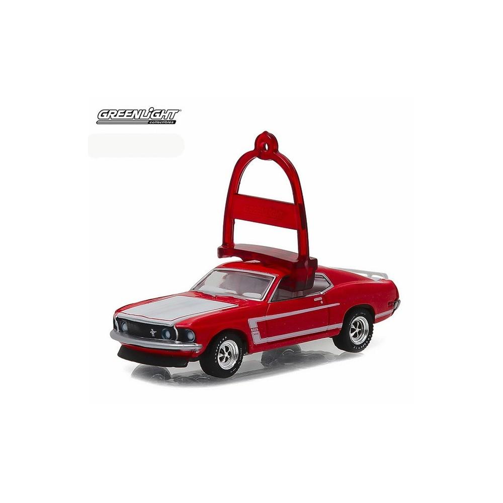 Greenlight Holiday Ornaments Series 1 1969 Ford Mustang Boss 302 2016