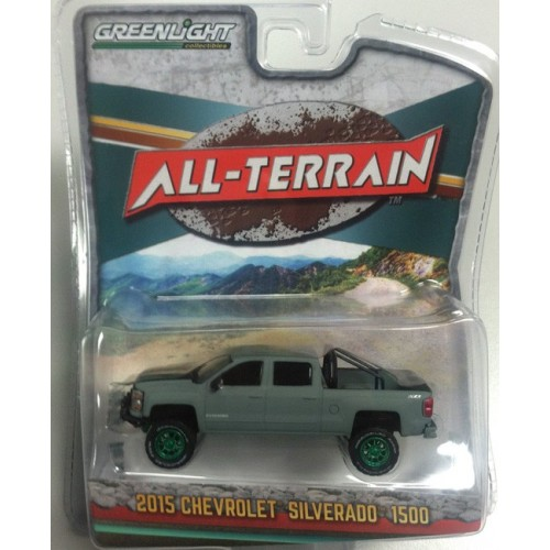 All-Terrain Series 4 - 2015 Chevy Silverado 1500 Green Machine Version