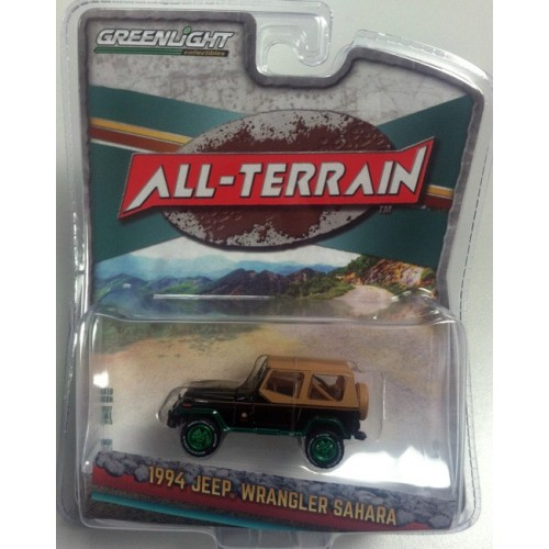 All-Terrain Series 5 - 1994 Jeep Wrangler Sahara Green Machine Version