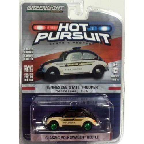 Hot Pursuit Series 22 - Classic Volkswagen Beetle Green Machine Version