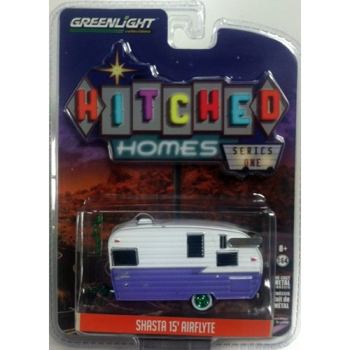 Hitched Homes Series 1 - Shasta 15' Airflyte Green Machine Version