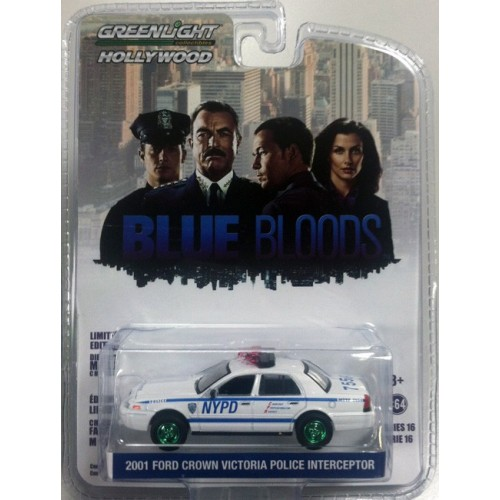 Hollywood Series 16 - 2001 Ford Crown Victoria Green Machine Version