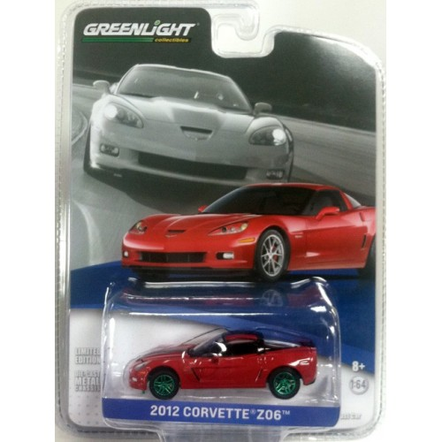 General Motors Collection Series 1 - 2012 Chevy Corvette Z06 Green Machine Version