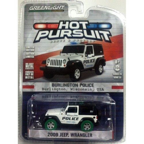 Hot Pursuit Series 23 - 2009 Jeep Wrangler Green Machine Version