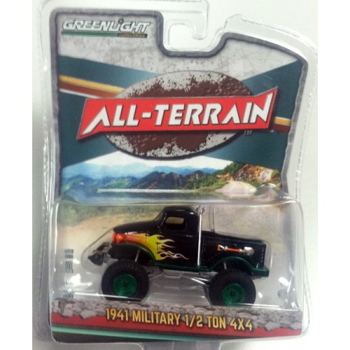All-Terrain Series 4 - 1941 Military 1/2 Ton 4X4 Green Machine Version