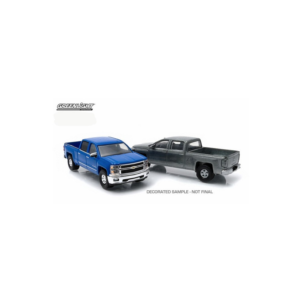 Greenlight First Cut 2014 Chevrolet Silverado Ltz Z71 Truck Set