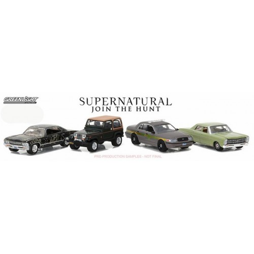 Hollywood Film Reels - Supernatural TV Series