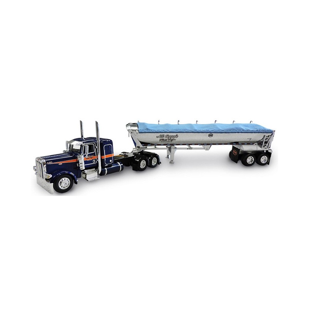 DCP Peterbilt 389 with MAC End Dump Trailer - All Season's Trucking
